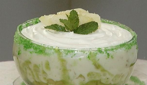 Torta de abacaxi (Foto: Reprodução/Inter TV)