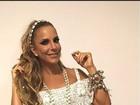 Irmã de Ivete Sangalo mostra cantora pronta para o desfile das campeãs