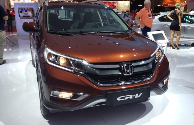 Honda CR-V (Foto: Aline Magalhães/Autoesporte )