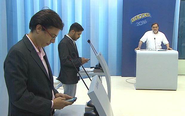 Rede Amazônica realiza debate do 2º turno entre candidatos à prefeitura de Porto Velho (Foto: Bom Dia Amazônia)