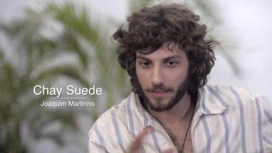 Chay Suede fala do personagem Joaquim e das histórias que compõem o 'Novo Mundo'