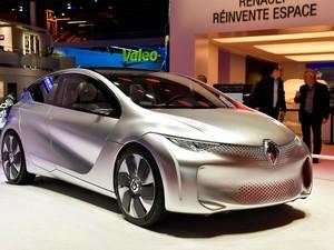 Renault Eolab e híbrido que faz 100 km com 1 litro de combustível (Foto: Newspress)
