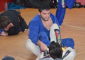 Givago Francisco, lutador santareno de MMA (Foto: Michael Douglas/GloboEsporte.com)