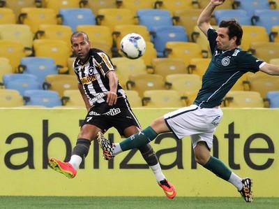 Emerson Sheik Botafogo x Goiás (Foto: Vitor Silva / SSPress)