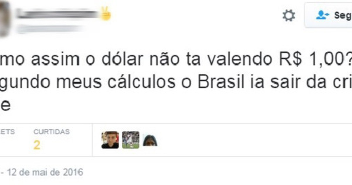 G1 R 1 Cotação Do Dólar Vira Unto Após Afastamento De Dilma Entenda Notícias Em Mercados