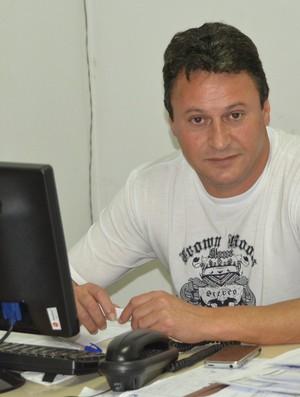 Sérgio Chagas Presidente Ecus (Foto: Vitor Geron)