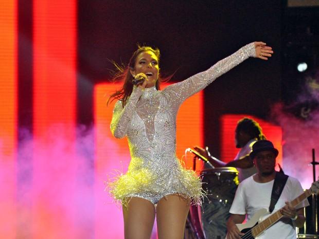 Ivete Sangalo em show em Salvador, na Bahia (Foto: Roberto Viana/ Ag. Haack)