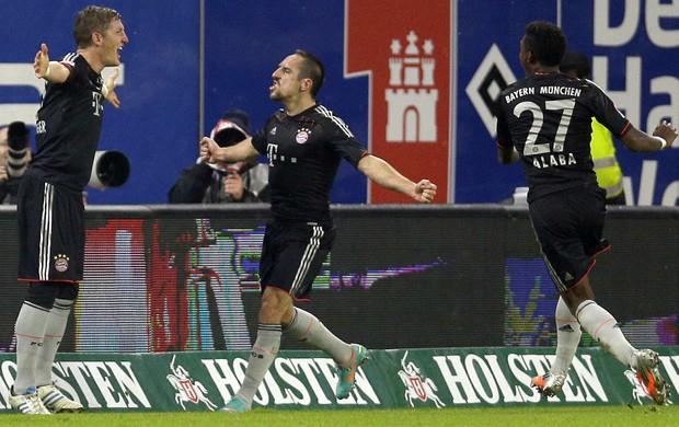 Schweinsteiger Bayern Hamburgo (Foto: AP)