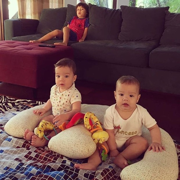 Filhos de Luana Piovani  (Foto: Reprodução / Instagram)