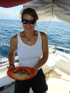 Adriana Kostiw comida (Foto: Arquivo pessoal)