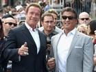 Encontro de titãs: Première tem Arnold Schwarzenegger e Sylvester Stallone