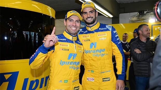 Os pilotos Galid Osman e Thiago Camilo. (Foto: Divulgação/Vanderley Soares)