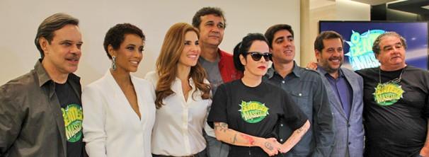 Elenco e equipe apresentam a nova série da Rede Globo  (Foto: Vanessa Thees/Rede Globo)