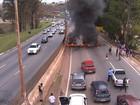 BH - 10h15: Trânsito é liberado após manifestação no Anel Rodoviário