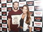 Pérola Faria e Bernardo Velasco vão juntos a show: 'Nos conhecendo'