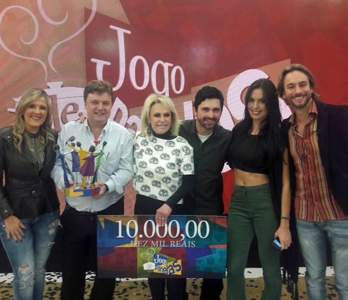 Del vence o Jogo de Panelas 19 (Foto: Ivo Madoglio/TV Globo)