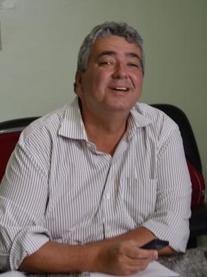 Ariano Wanderley, intengrante da Junta Administrativa durante reunião na Federação Paraibana de Futebol (Foto: Amauri Aquino / GloboEsporte.com/pb)