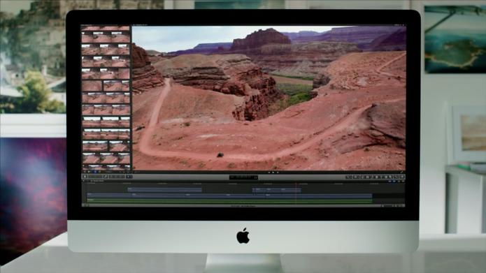 Novo iMac de 27 polegadas promete imagens impressionantes e espaço de sobra (Foto: Reprodução)