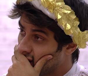 Renan se emociona no quarto 720x620 (Foto: TV Globo)