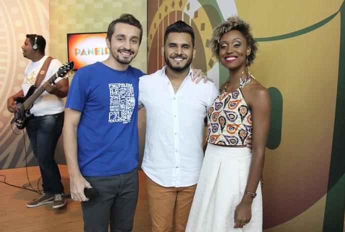 Jhon Veiga foi revelado na primeira edição do 'Cantando no Paneiro' (Foto: Katiúscia Monteiro/ Rede Amazônica)