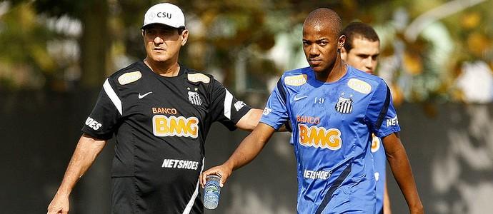 Muricy Victor Andrade (Foto: Ivan Storti/Divulgação Santos FC)