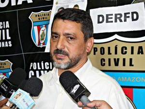 Segundo delegado, quadrilha estava sendo investigada há um mês (Foto: Tiago Melo/G1 AM)