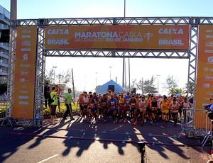 Maratona do Rio 2013 largada (Foto: Fernanda Cansanção)