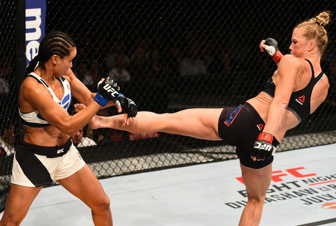 Marion Reneau e Holly Holm UFC San Diego (Foto: Getty Images)