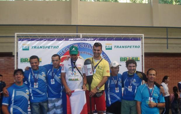 Santareno é campeão brasileiro de canoagem (Foto: Divulgação)