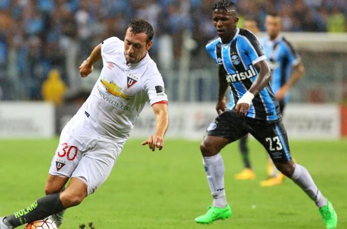 Brahian Alemán Grêmio x LDU (Foto  EFE) 913910bfd8221