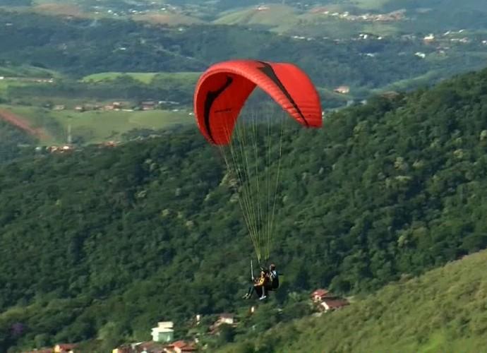 'Rio Sul Revista' mostrou um passeio pelo céu de Miguel Pereira (Foto: Reprodução/ Rio Sul Revista)