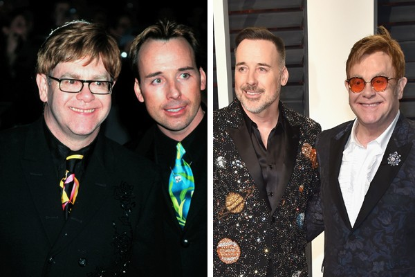 Elton John e David Furnish (Foto: Getty Images)