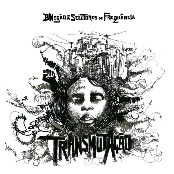 Capa de 'TransmutAção', novo álbum do Bnegão & Seletores de Frequência (Foto: Divulgação)