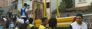 Jovens percorrem Belém com ícone de Nossa Senhora (Divulgação/ Círio de Nazaré)