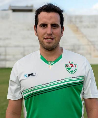 João Paulo, técnico sub-20 Salgueiro  (Foto: João Paulo / Arquivo pessoal )