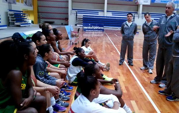 seleção feminina de basquete (Foto: CBB)