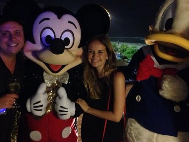 Léo Fuchs e Fernanda Rodrigues em festa no Rio (Foto: Instagram/ Reprodução)