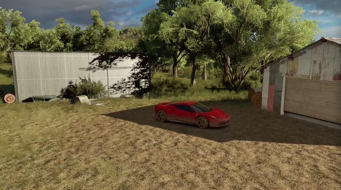 Como usar o Modo Drone de Forza Horizon 3 (Foto: Reprodução/Felipe Vinha)