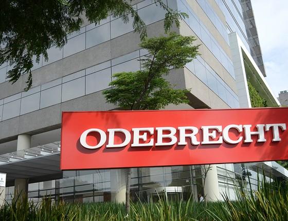 Empresa Odebrecht, em São Paulo (Foto: Bruno Cotrim / Frame / Ag. O Globo)