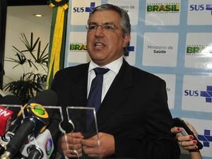 O ministro da Saúde, Alexandre Padilha (Foto: Valter Campanato / Agência Brasil)