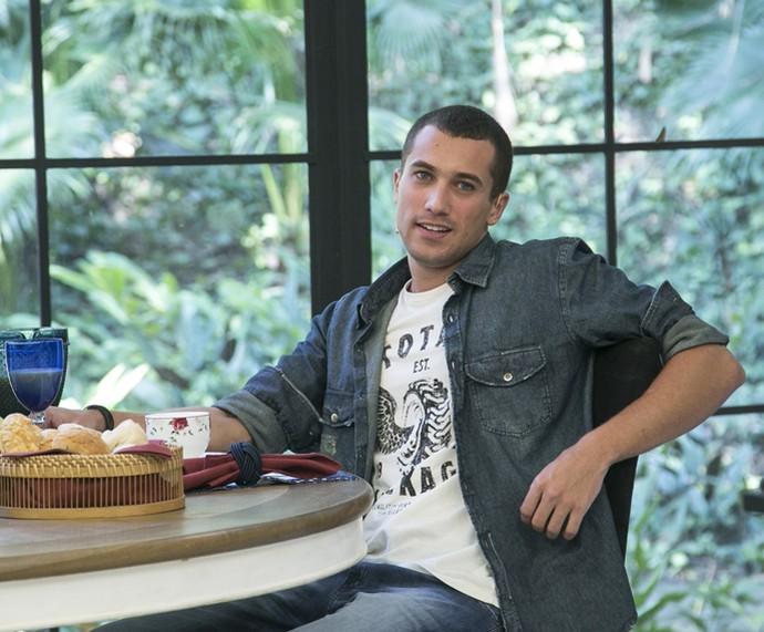Ricardo Vianna fala sobre seu personagem, em 'Malhação' (Foto: Raphael Dias/Gshow)