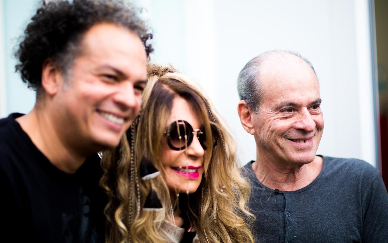 Z Ricardo, ao lado de Elba Ramalho e Ney Matogrosso (Foto: Foto: Samuel Kobayashi )