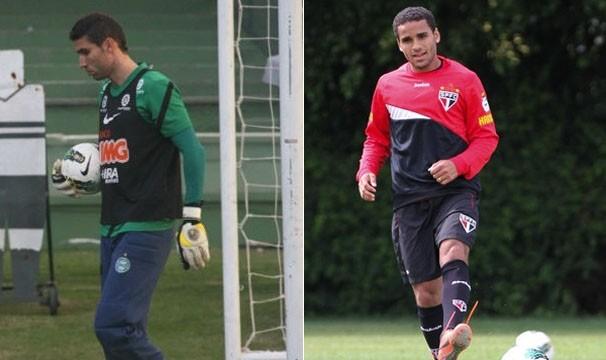 Coritiba e São Paulo duelam neste domingo (Foto: Gabriel Hamilko / GloboEsporte.com / Luiz Pires/VIPCOMM)