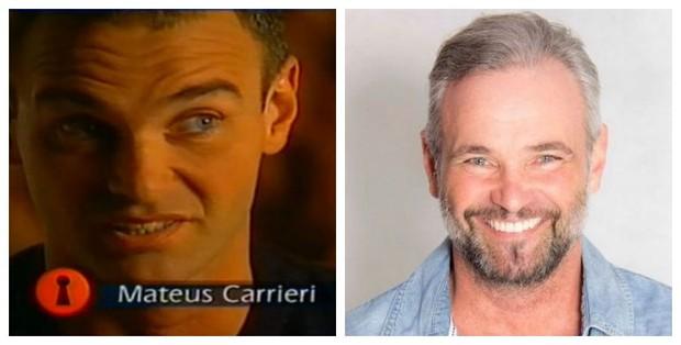 Antes e depois de Mateus Carrieri (Foto: Reprodução de Vídeo | Reprodução do Facebook)