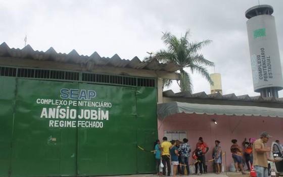 Complexo Penitenciário Anísio Jobim, em Manaus, Amazonas (Foto: Divulgação/Governo do Amazonas)