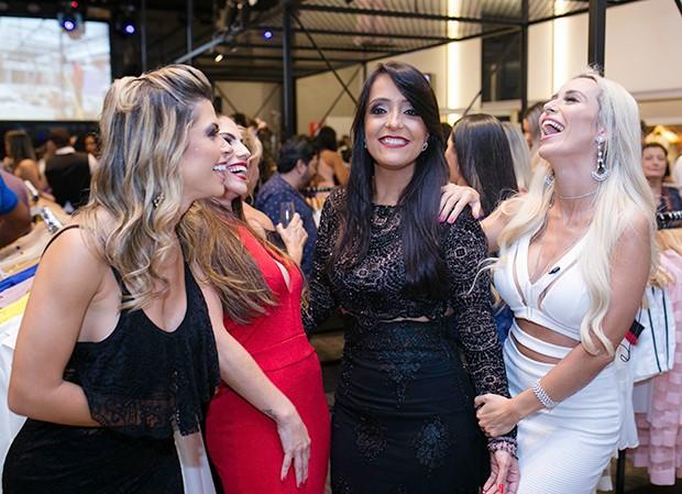 Cacau Clucci, Anamara, Letícia Santiago e Joyce Rocha (Foto: Pedro Duarte / CG1 Comunicação/ Divulgação)