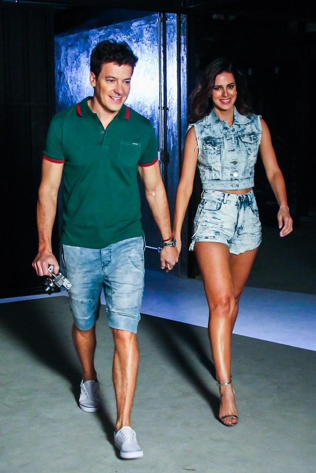 Rodrigo Faro e Vera Viel (Foto: Manuela Scarpa/Photo Rio News)