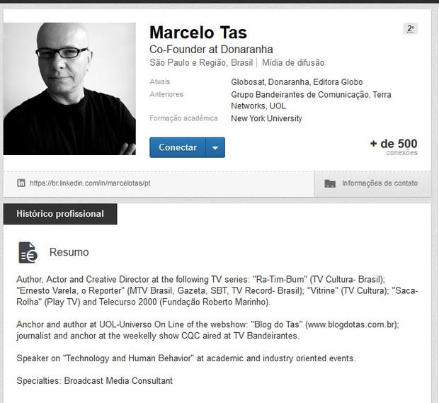 Marcelo Tas (Foto: Linked / Reprodução )
