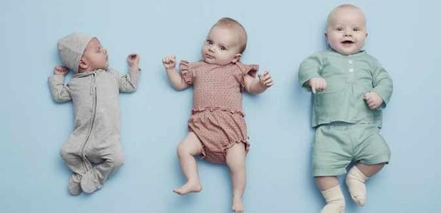 Quando as roupas ficam pequenas, os pais podem devolvê-las e pegar outras, maiores (Foto: Divulgação)