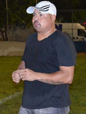 Mirandinha, técnico do Santa Cruz-PB (Foto: Lucas Barros / GloboEsporte.com)
